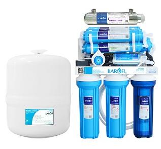 Máy lọc nước sRO không tủ đèn UV